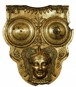 Carthaginian breastplate of the III century BC