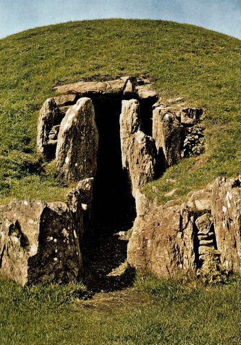 Funerary tomb on the island of Anglesey. Last redoubt of the druids of Britannia